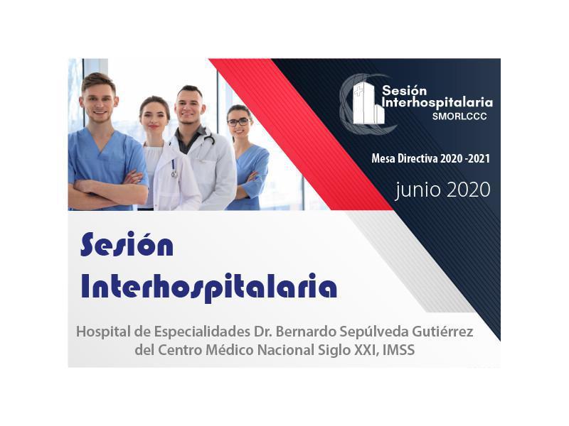 Sesión Interhospitalaria Junio
