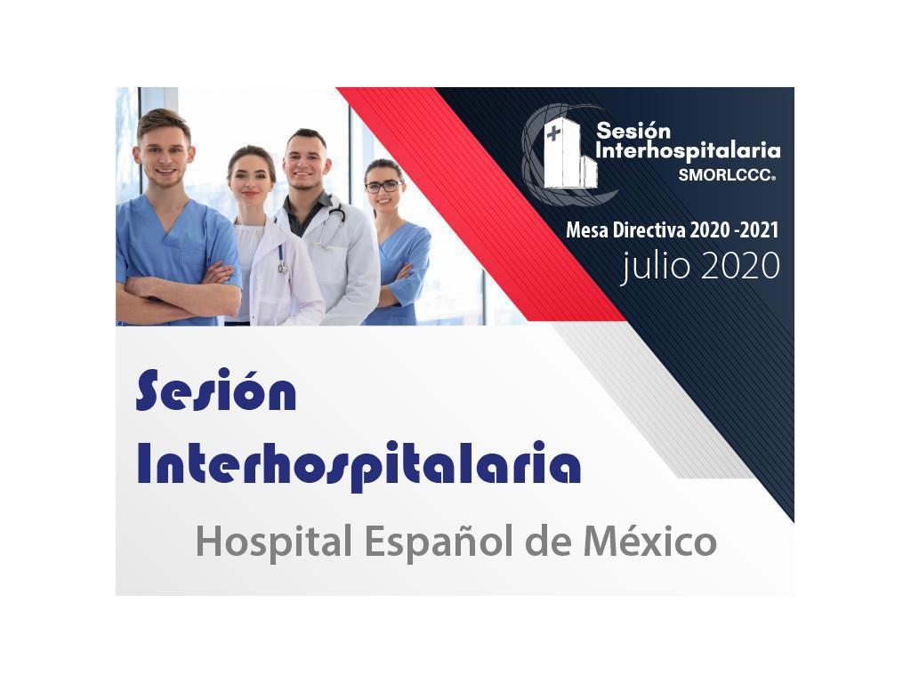 Sesión Interhospitalaria Julio