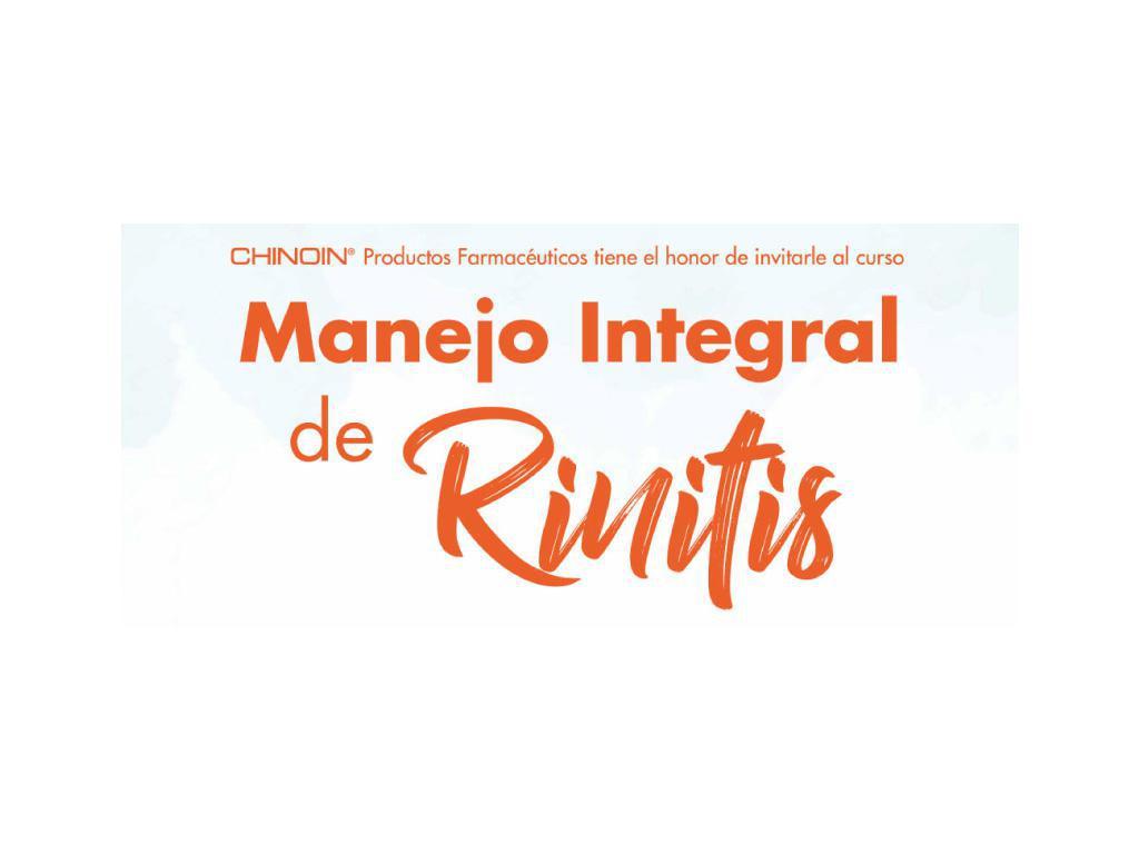 Manejo integral de Rinitis