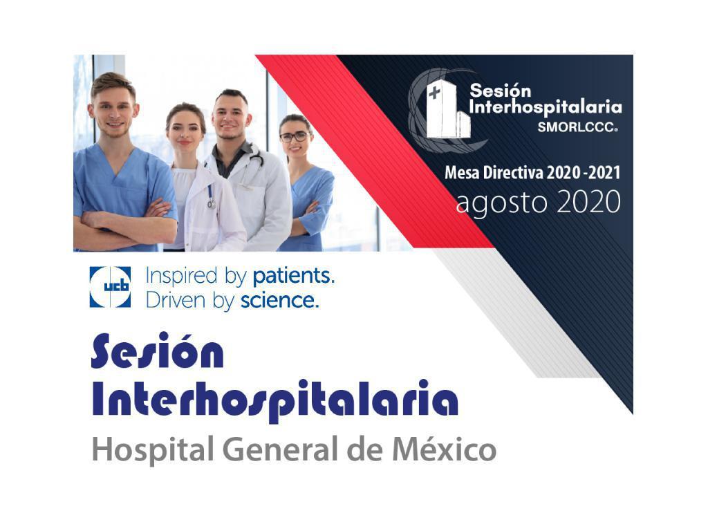 Sesión Interhospitalaria Agosto
