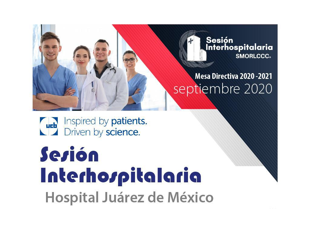 Sesión Interhospitalaria Septiembre