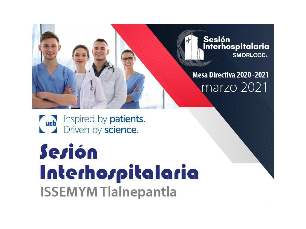 Sesión Interhospitalaria Marzo