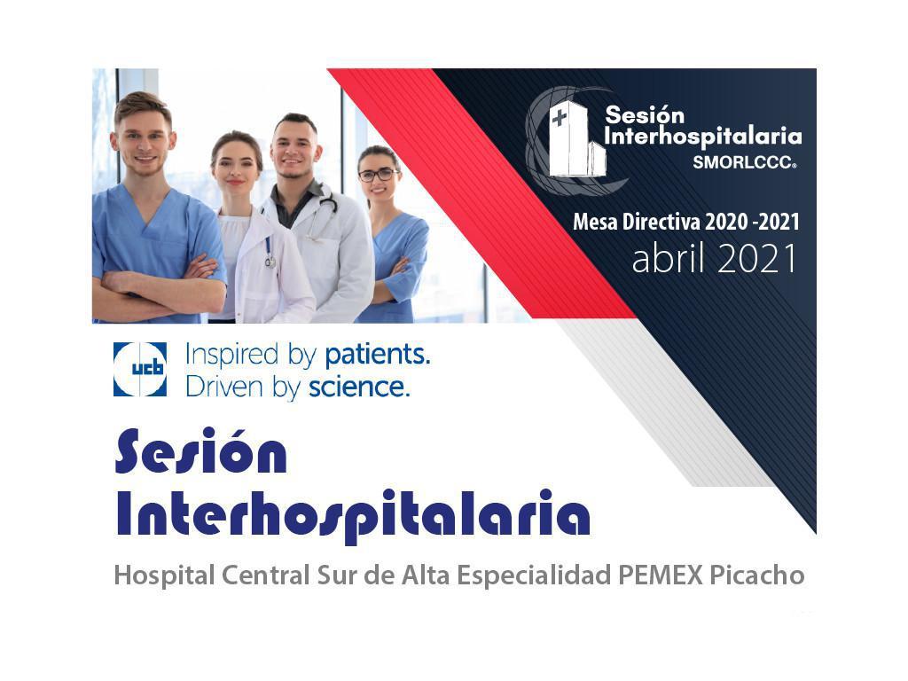 Sesión Interhospitalaria Abril