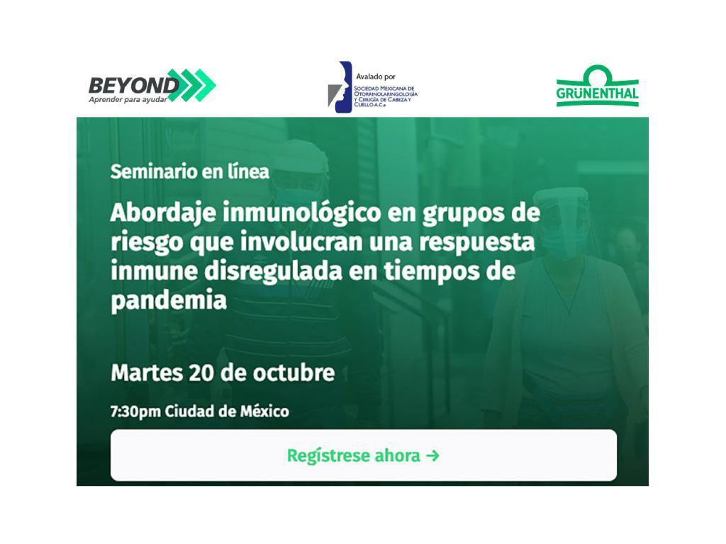 Abordaje inmunológico en grupos de riesgo que involucran una respuesta inmune disregulada en tiempos de pandemia