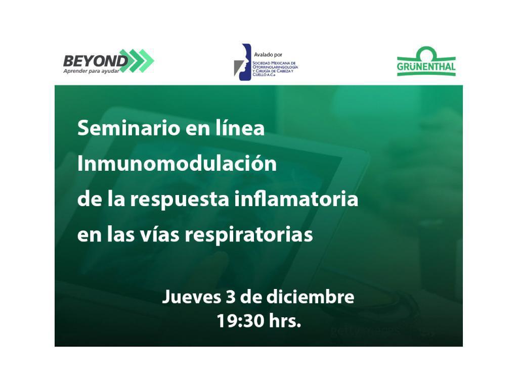 Inmunomodulación de la respuesta inflamatoria en las vías respiratorias