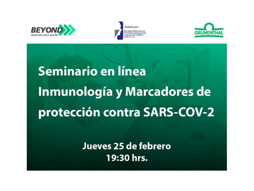 Inmunología y Marcadores de protección contra SARS-COV-2