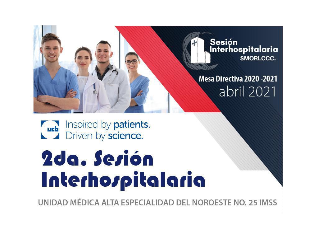 2da. Sesion Interhospitalaria Abril