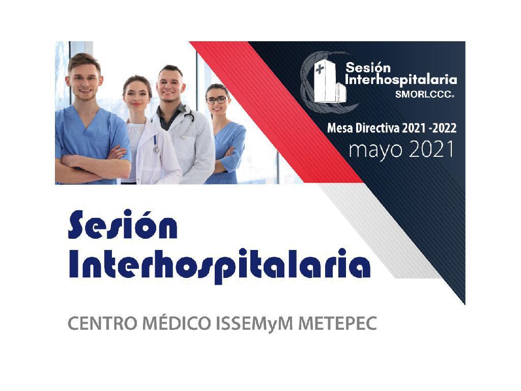 Sesion Interhospitalaria Mayo