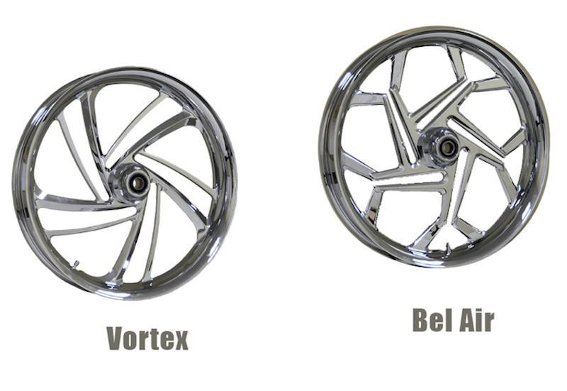 METALSPORT WHEELS - The Vortex and Bel Air Wheels