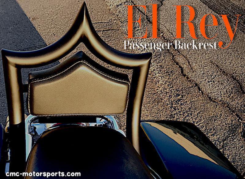 CMC MOTORSPORTS - El Rey Passenger Backrest