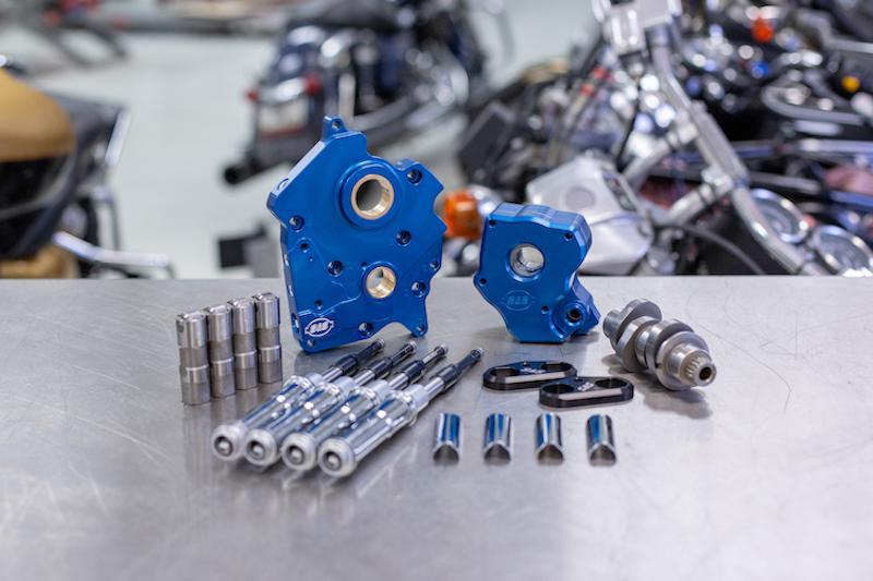 S&S CYCLE - Cam Chest Kits for the Milwaukee-Eight Engine