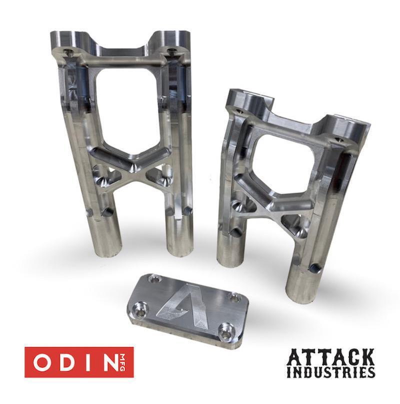 ATTACK INDUSTRIES - Attack 1 Piece Billet Risers