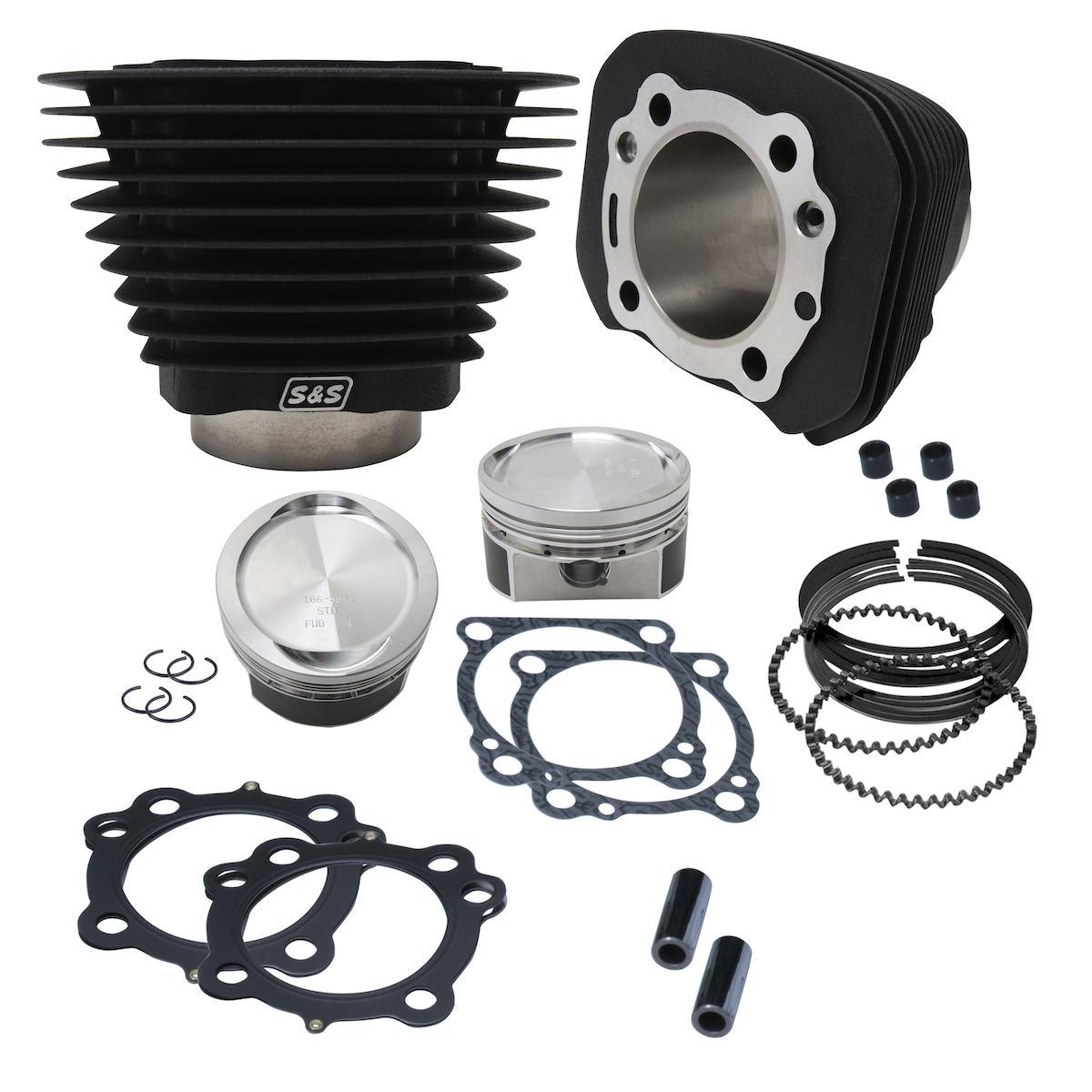 S&S CYCLE - Updated Big Bore Kits for HD Sportster Models