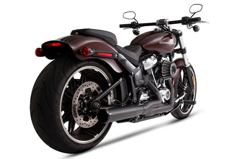 RINEHART RACING - Redesigned 2-Into-1 Exhaust Systems for Harley-Davidson Milwaukee-Eight Softails