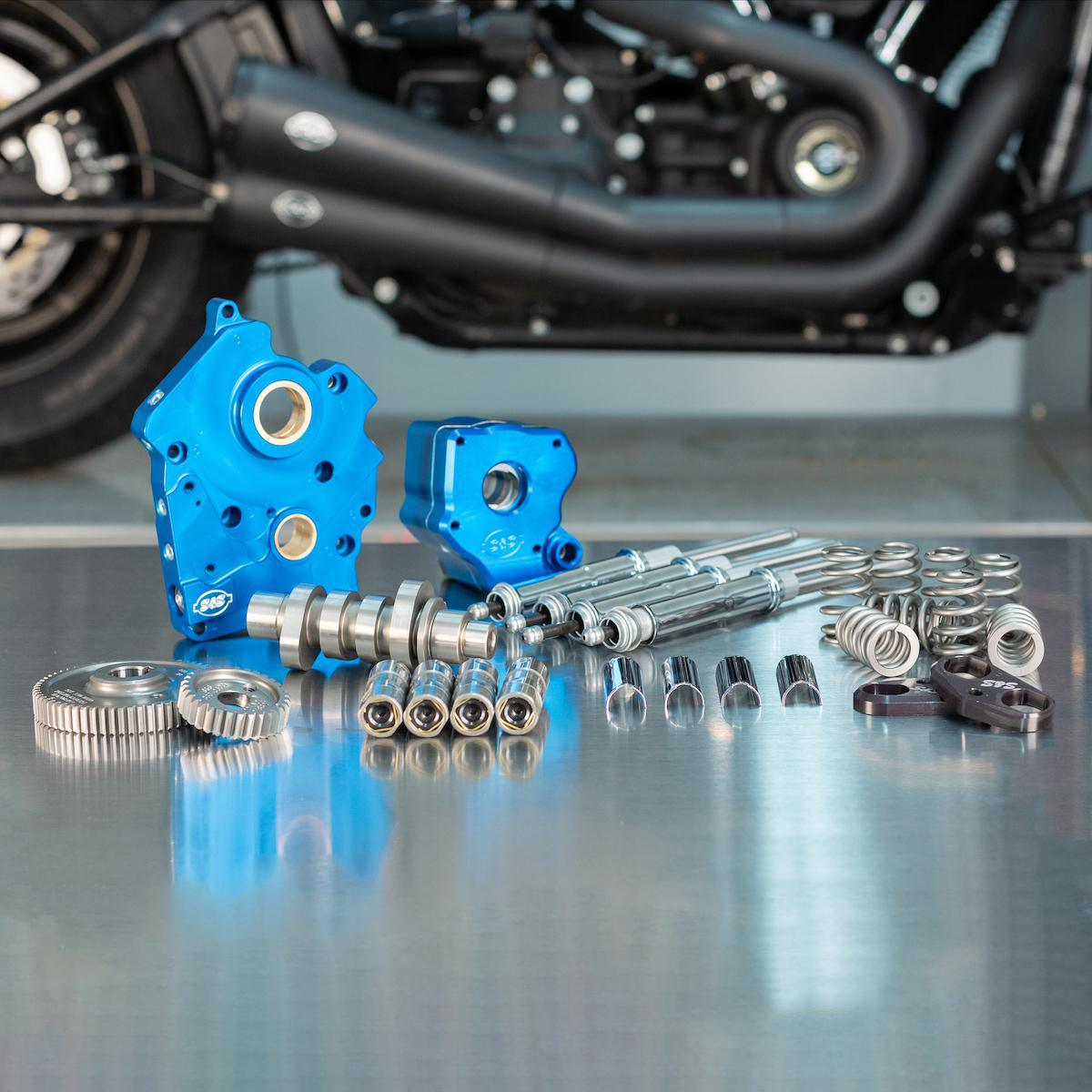 S&S CYCLE - 550 Cam Chest Kits for the Milwaukee-Eight Engine