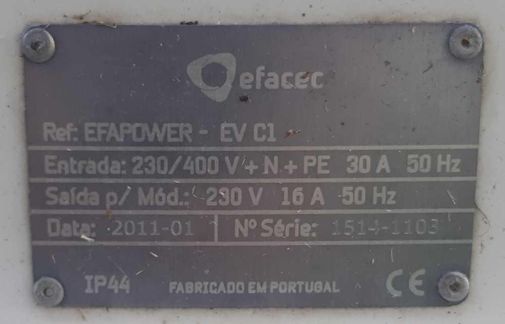 Ponto Carregamento Elétrico: VCT-5