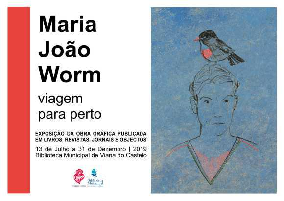 """Exposição """"Viagem para Perto"""", de Maria João Worm"""