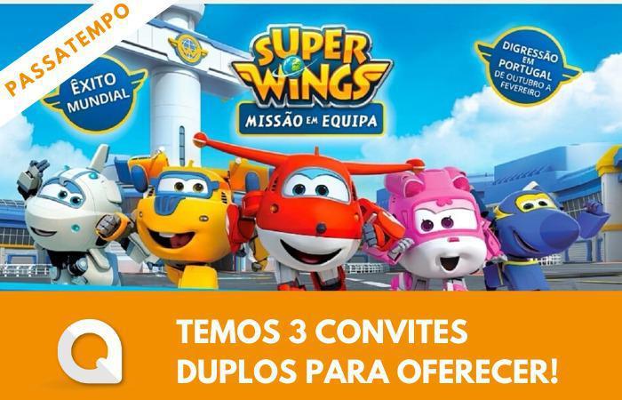 Passatempo Super Wings