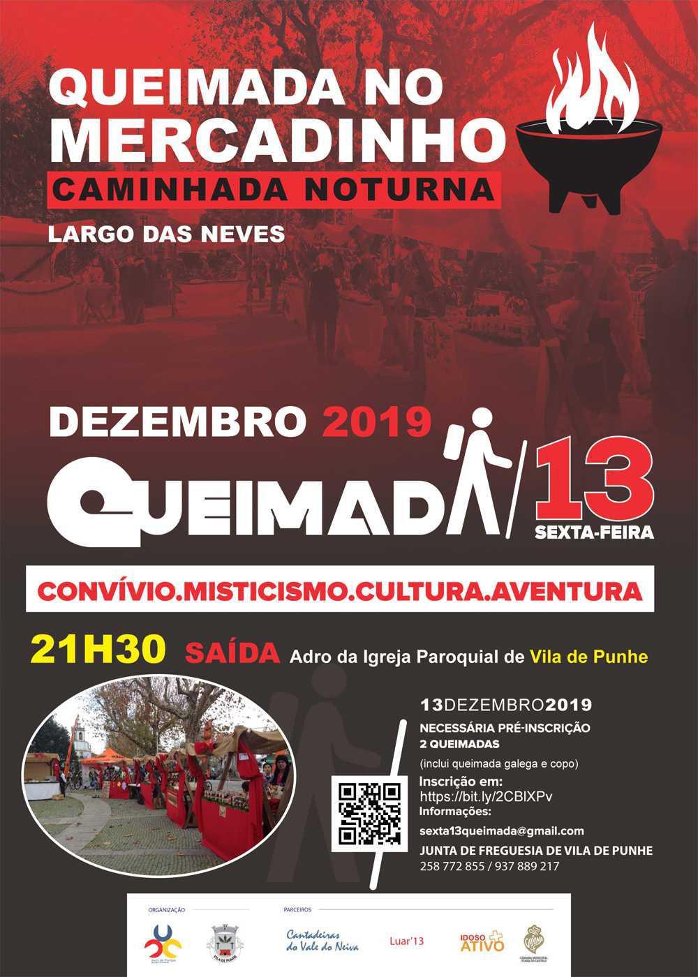"""Queimada no Mercadinho - Caminhada Noturna """"Sexta-feira' 13"""""""