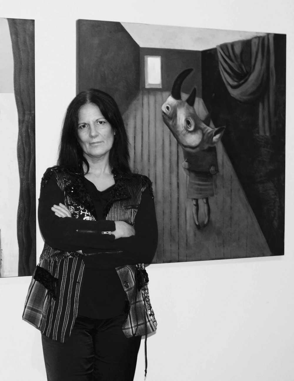 """Exposição """"A vida no espelho das cores"""" de Evelina Oliveira"""