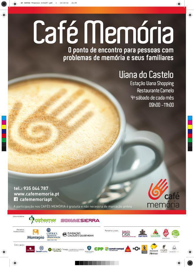 Café Memória em Viana do Castelo
