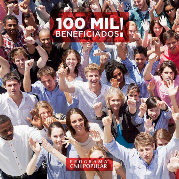 Já são mais de 100 mil beneficiados pelo CNH POP!