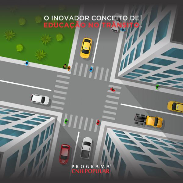 O inovador conceito de educação no trânsito!