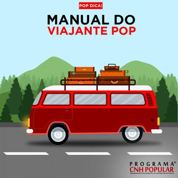 POP DICAS: Manual do viajante POP