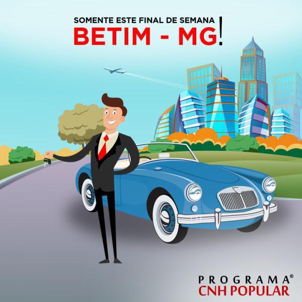 É neste final de semana, Betim (MG)!