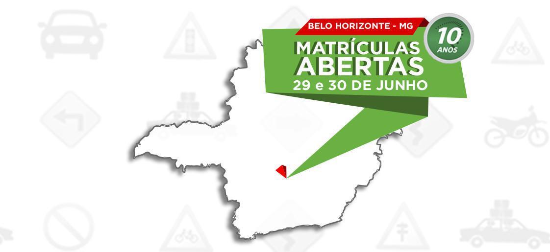 Querida Belo Horizonte, voltamos!