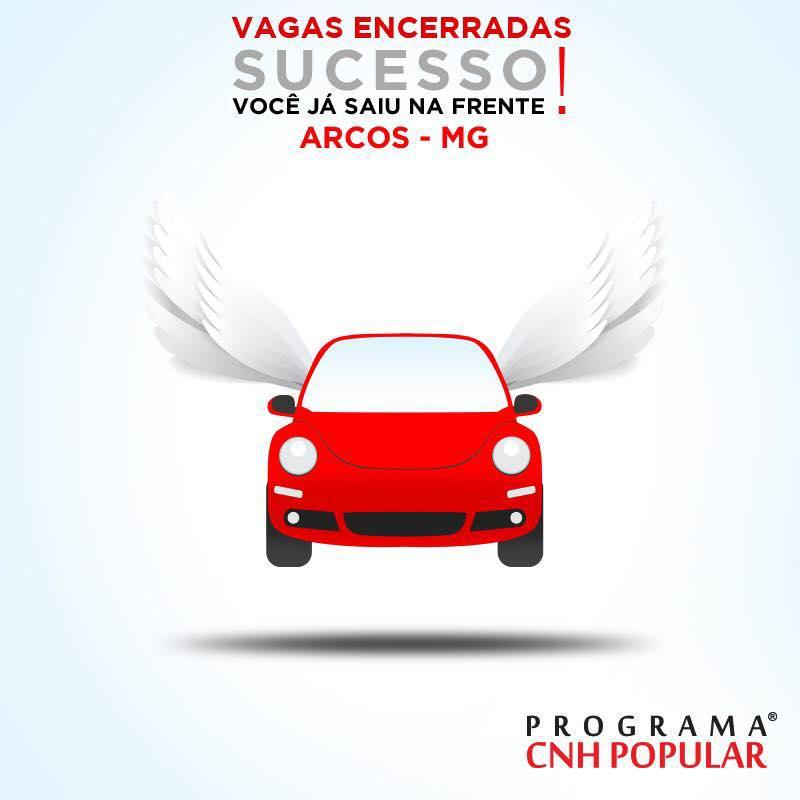 Vocês foram um sucesso, Arcos (MG)!