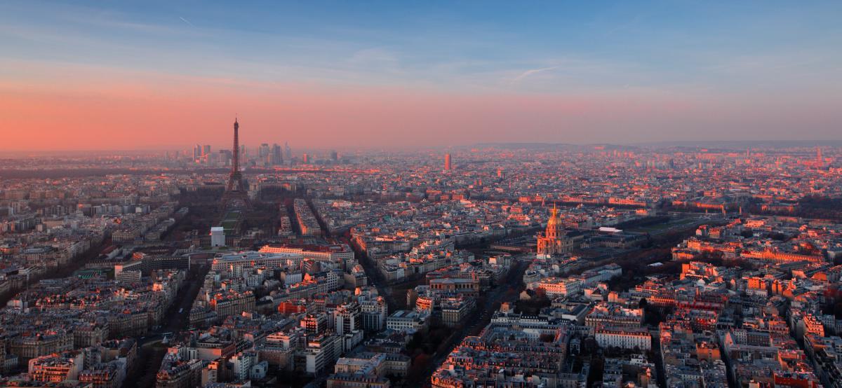 Paris, a Cidade Luz em hyperlapse