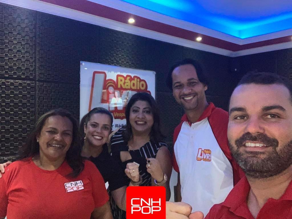 Programa CNH Popular na Rádio LIVRE, em Vespasiano