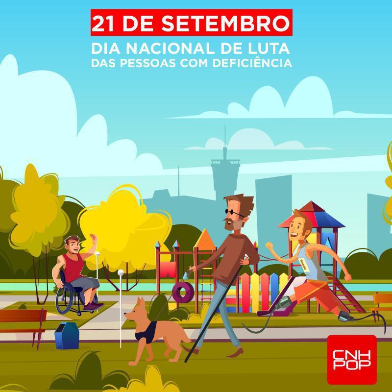 21/09 - Dia Nacional de Luta das Pessoas com Deficiência