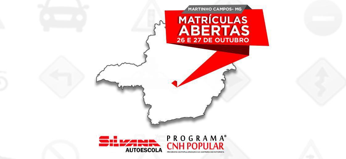 PROGRAMA CNH POPULAR® 2019 | MARTINHO CAMPOS - MG | 2ª EDIÇÃO