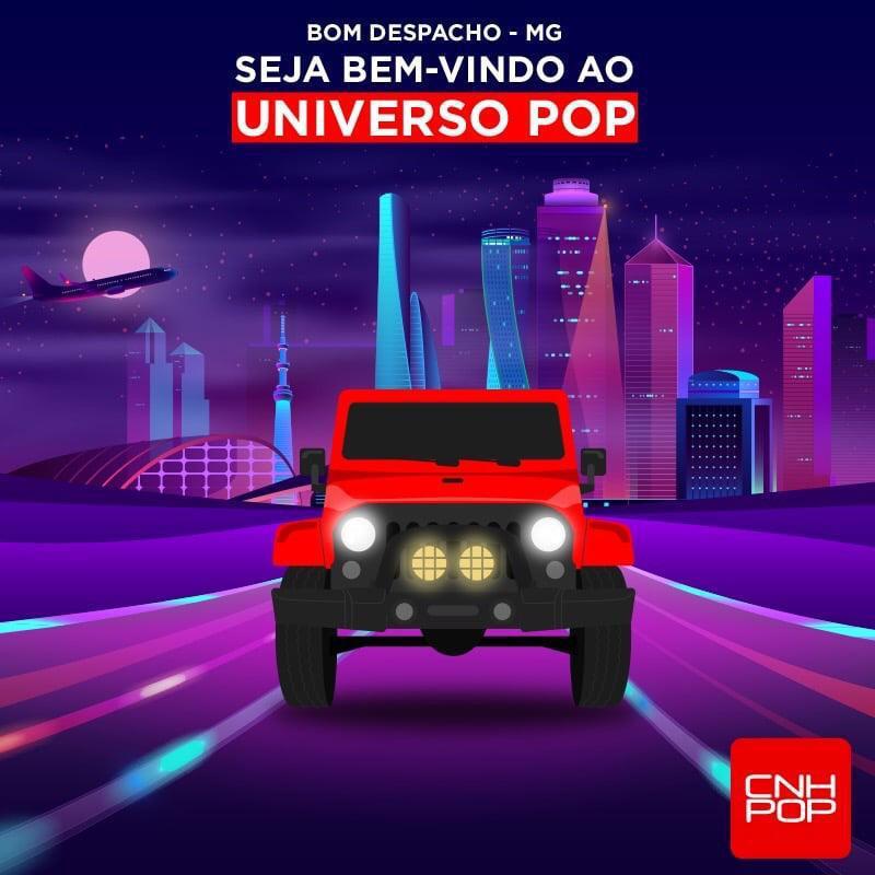 Sejam bem-vindos ao Universo POP, Bom Despacho!