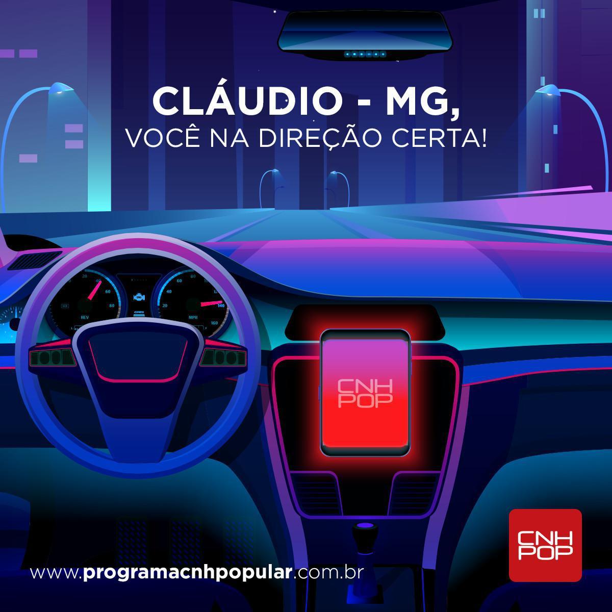 CLÁUDIO - MG, BEM-VINDOS AO UNIVERSO POP!