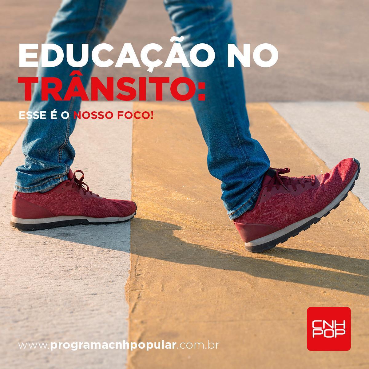 EDUCAÇÃO NO TRÂNSITO: ESSE É O NOSSO FOCO!