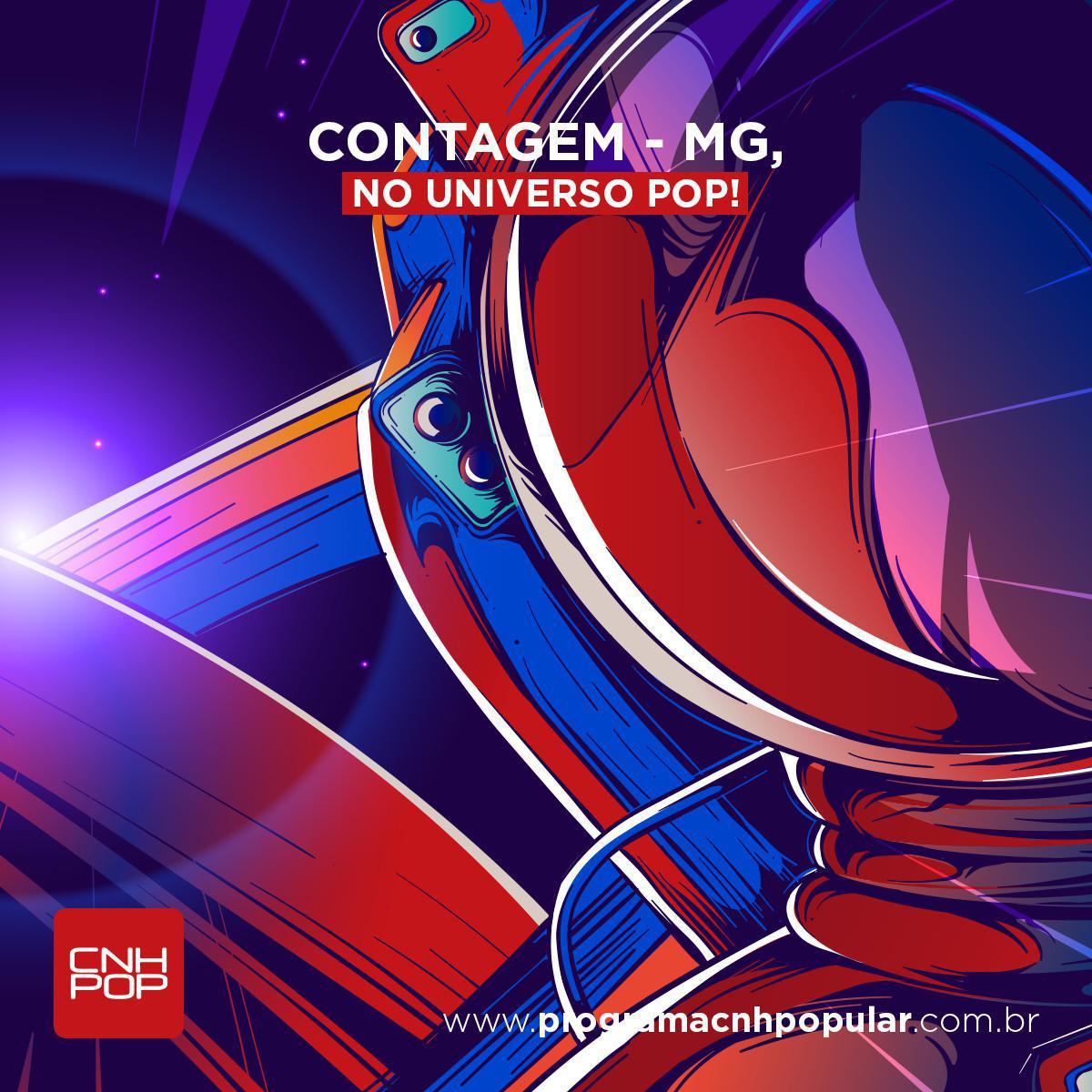 CONTAGEM- MG, BEM-VINDOS AO UNIVERSO POP!