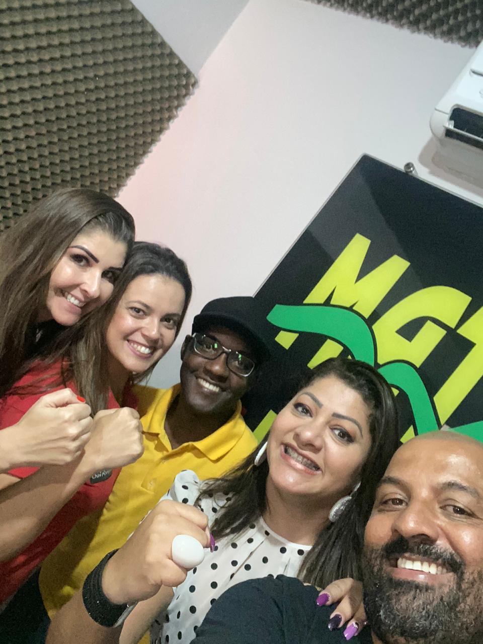 Rádio Matele 87,9 em Mateus Leme recebe CNH POP!