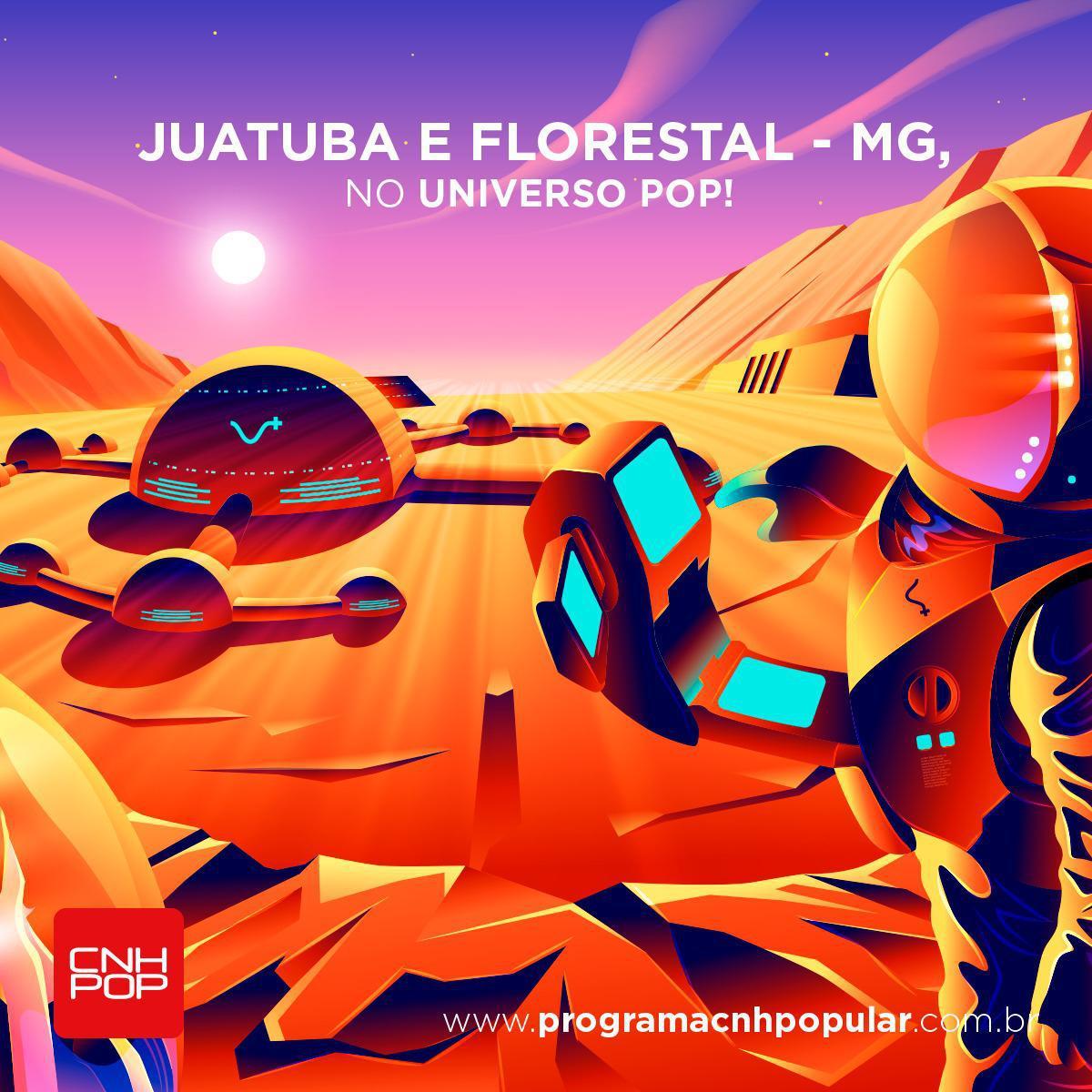 JUATUBA E FLORESTAL, BEM-VINDOS AO UNIVERSO POP!