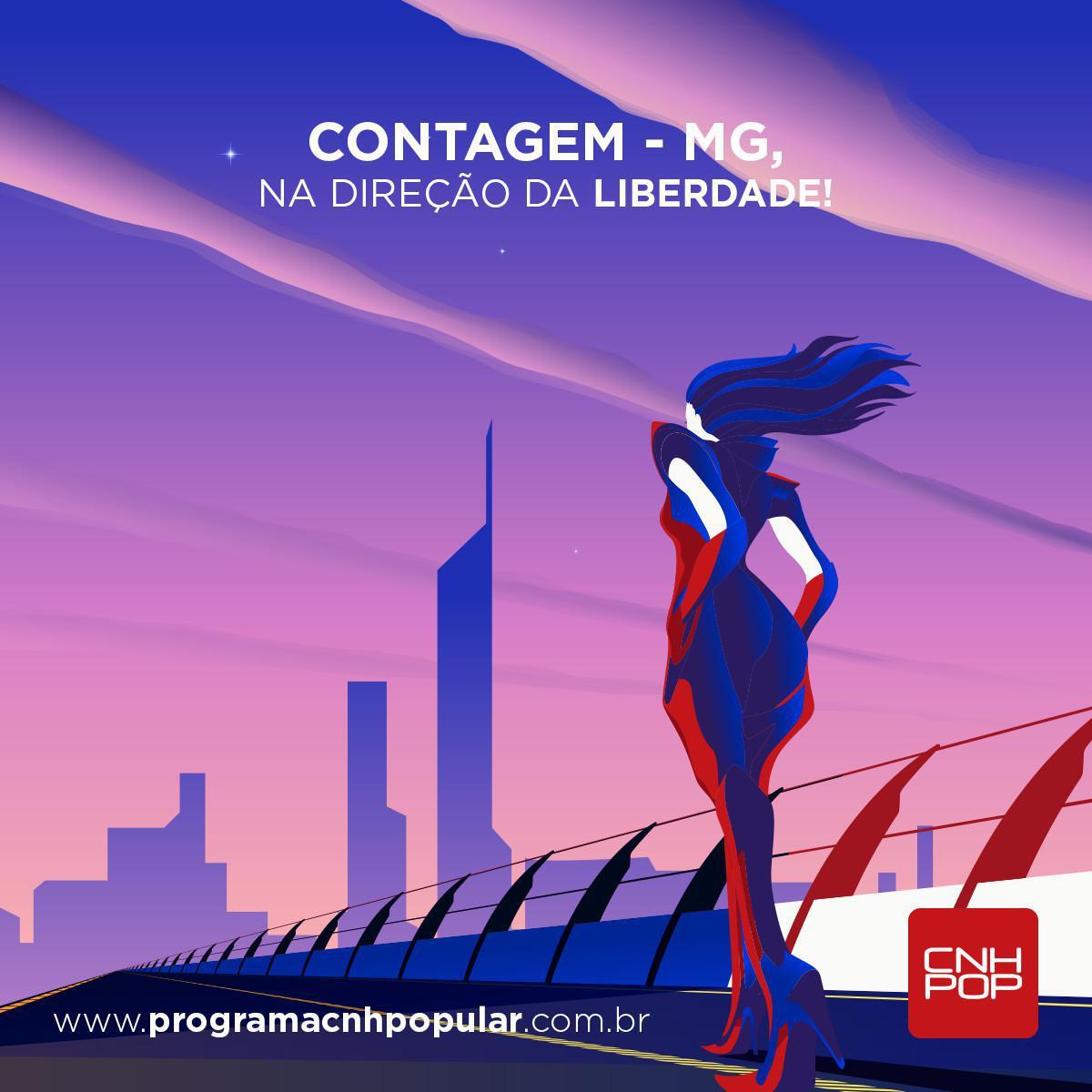 AMANHÃ, ÚLTIMO DIA DE MATRÍCULAS CONTAGEM!
