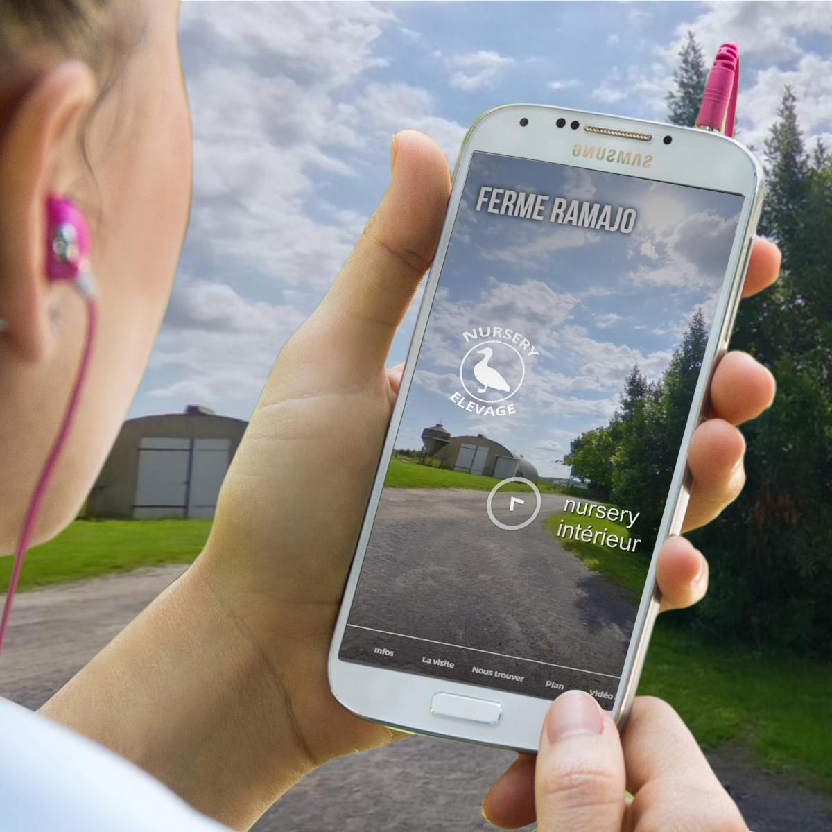 Visite virtuelle 360 interactive