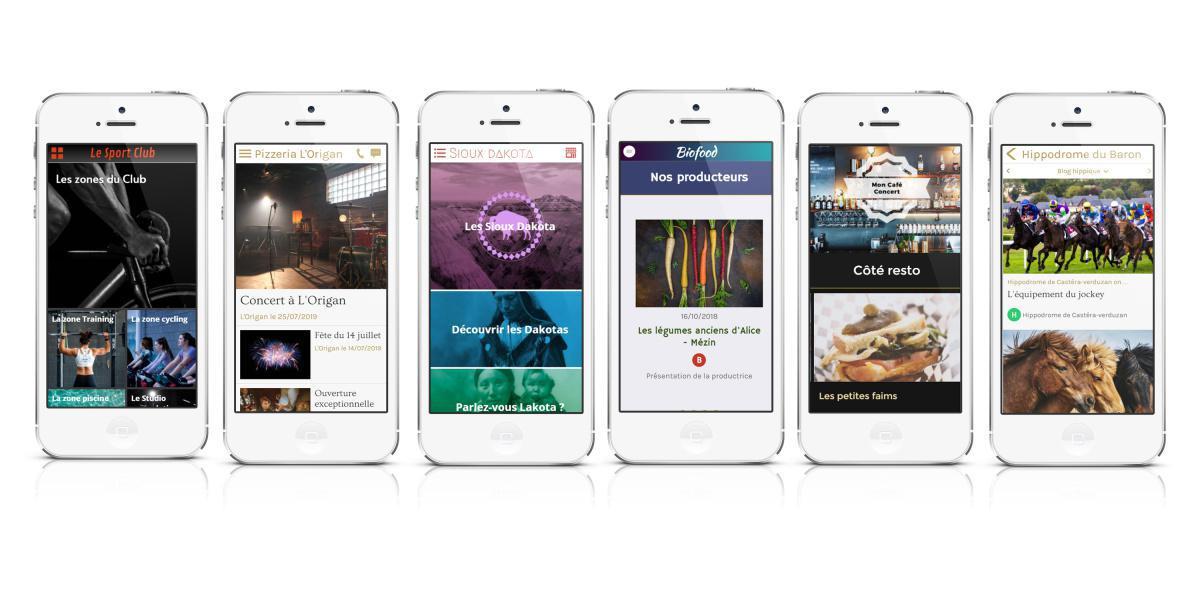 Tableau des fonctionnalités des abonnements (app. marketing)