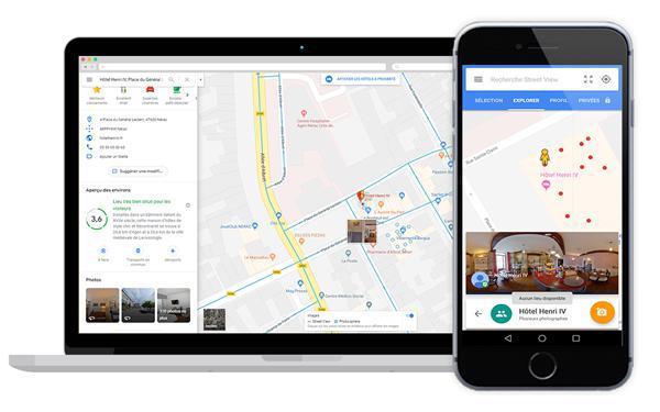 Une visite virtuelle 360° pour un restaurant