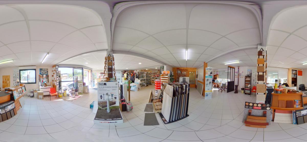Visite virtuelle 360° à Nérac (47600) du magasin de matériaux JCD