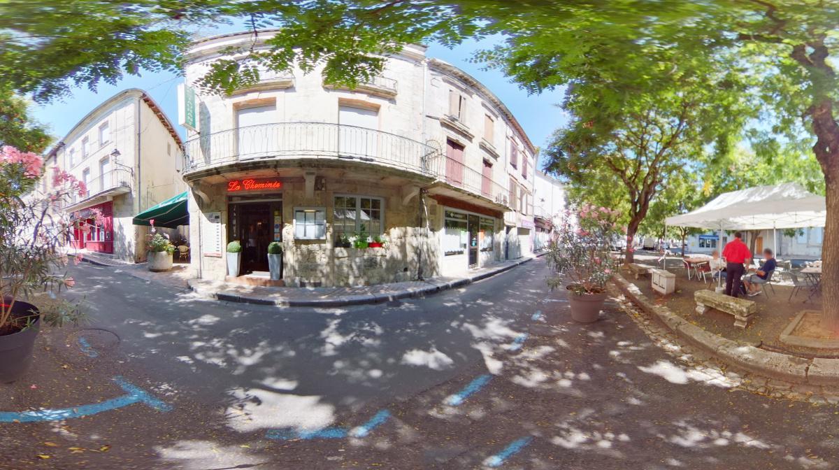 Visite virtuelle 360° à Nérac (47230) du restaurant La cheminée