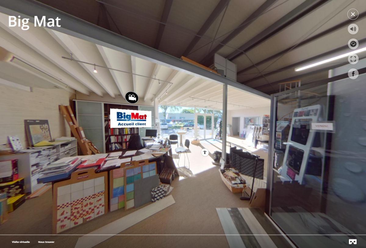 Visite virtuelle 360° du magasin Big Mat Chapuis Marsan à Nérac (47600)