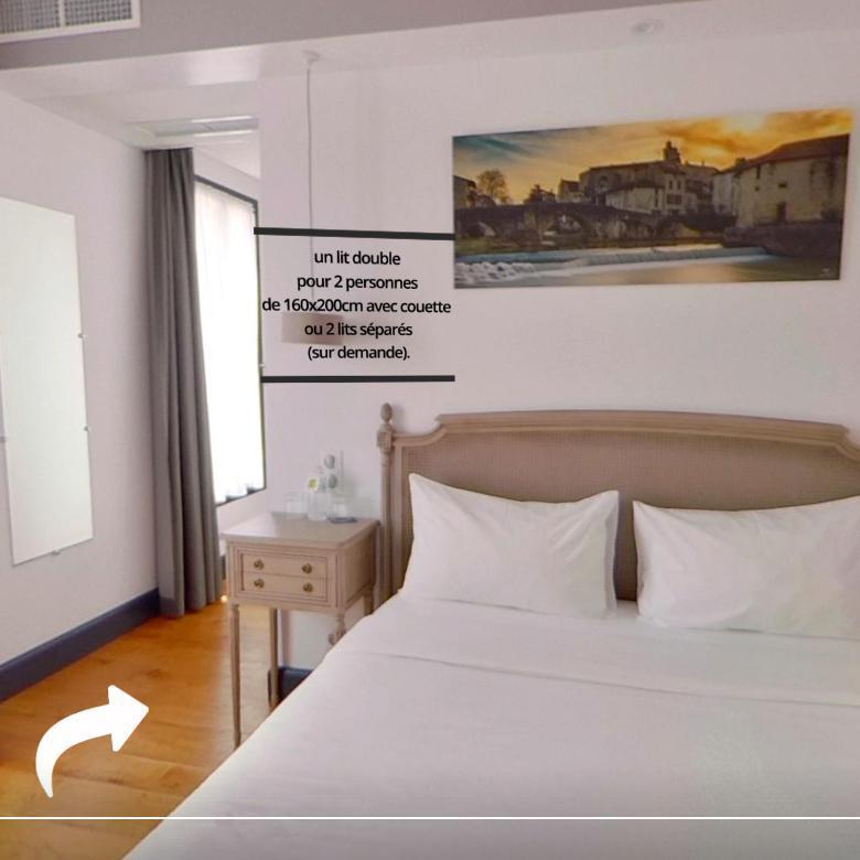 Visite virtuelle 360° à Nérac (47600) de l'Hôtel henri IV