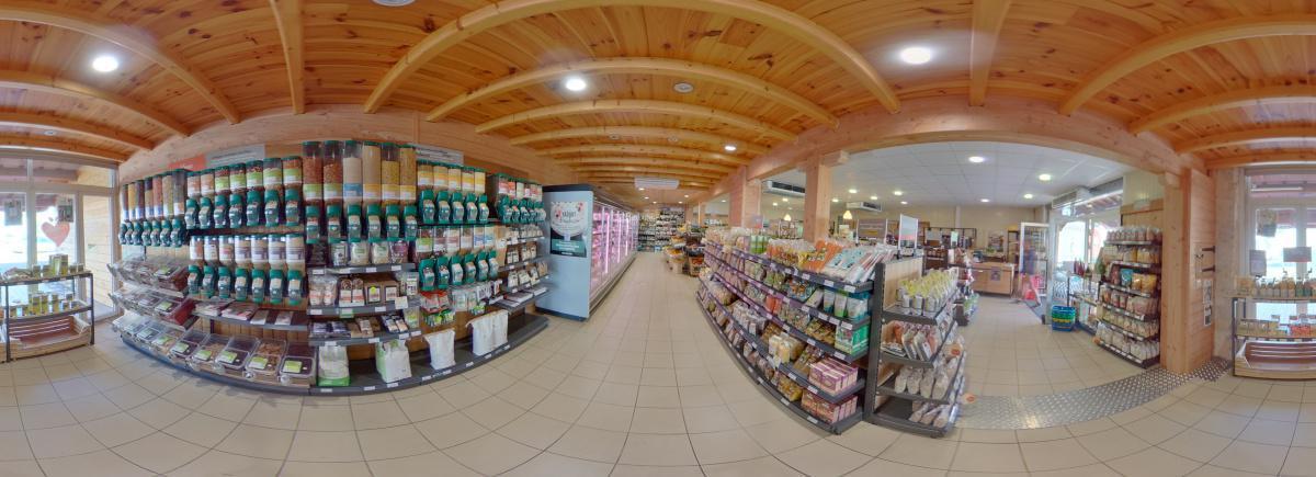 Visite virtuelle 360° à Nérac (47600) du magasin bio La Vie Claire